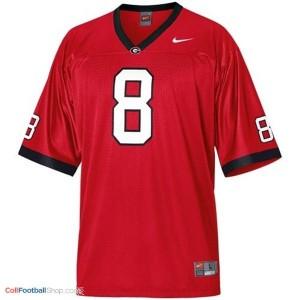 A.J. Green Georgia Bulldogs (UGA) #8 Football Jersey - Red