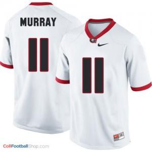Aaron Murray Georgia Bulldogs (UGA) #11 Football Jersey - White