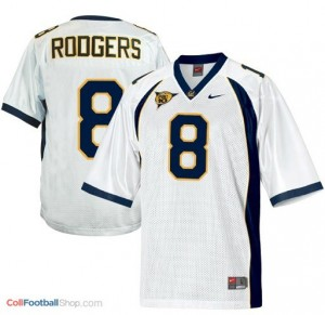 Aaron Rodgers California Golden Bears  #8 Football Jersey - White