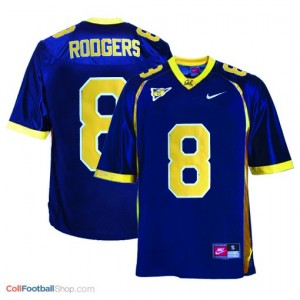 Aaron Rodgers California Golden Bears #8 Youth Football Jersey - Blue