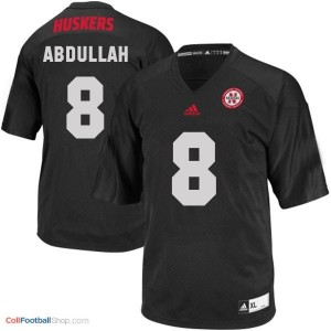 Ameer Abdullah Nebraska Cornhuskers #8 Football Jersey - Black