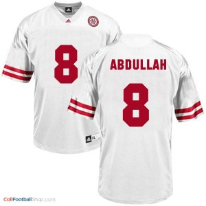 Ameer Abdullah Nebraska Cornhuskers #8 Youth Football Jersey - White