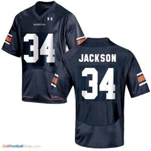Bo Jackson Auburn Tigers #34 Football Jersey - Navy Blue
