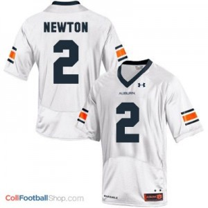 Cam Newton Auburn Tigers #2 Football Jersey - White