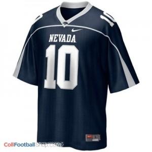 Colin Kaepernick Nevada Wolf Pack #10 Youth Football Jersey - Blue