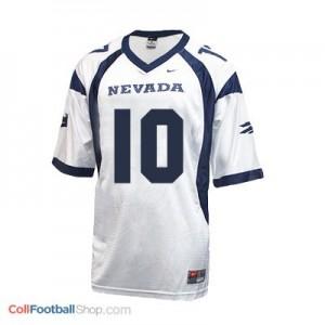 Colin Kaepernick Nevada Wolf Pack #10 Youth Football Jersey - White