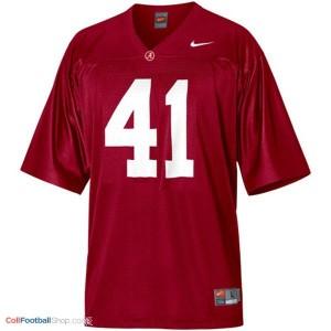 Courtney Upshaw Alabama #41 Football Jersey - Crimson Red