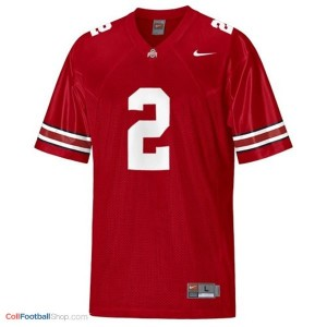 Cris Carter Ohio State Buckeyes #2 Youth Football Jersey - Scarlet Red