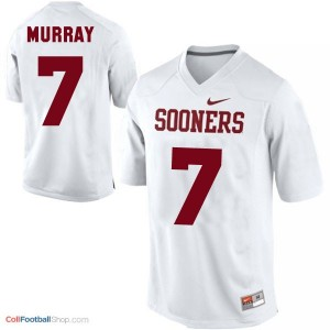 DeMarco Murray Oklahoma Sooners #7 Football Jersey - White