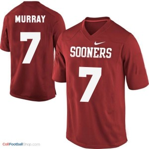DeMarco Murray Oklahoma Sooners #7 Youth Football Jersey - Crimson Red