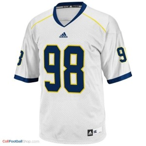 Devin Gardner Michigan Wolverines #98 Youth Football Jersey - White