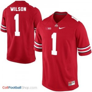 Dontre Wilson Ohio State Buckeyes #1 Football Jersey - Scarlet Red