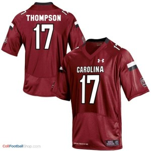 Dylan Thompson South Carolina Gamecocks #17 Youth Football Jersey - Red