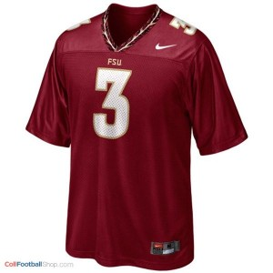 EJ Manuel Florida State Seminoles (FSU) #3 Football Jersey - Red