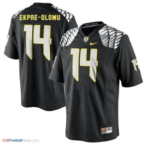 Ifo Ekpre Olomu Oregon Ducks #14 Football Jersey - Black