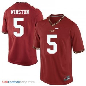 Jameis Winston 2013 Florida State Seminoles (FSU)  #5 Football Jersey - Garnet Red