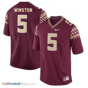 Jameis Winston 2014 Florida State Seminoles (FSU) #5 Youth Football Jersey - Garnet Red