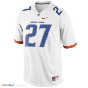Jay Ajayi Boise State Broncos #27 Youth Football Jersey - White