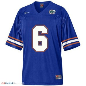 Jeff Driskel Florida Gators #6 Football Jersey - Blue