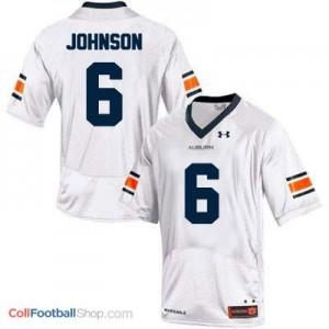Jeremy Johnson Auburn Tigers #6 Football Jersey - White