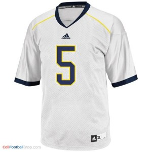 John Wangler Michigan Wolverines #5 Football Jersey - White
