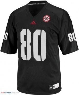 Kenny Bell Nebraska Cornhuskers #80 Youth Football Jersey - Black