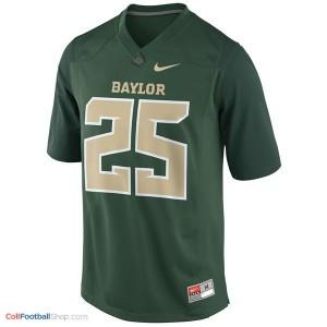 Lache Seastrunk Baylor Bears #25 Football Jersey - Green