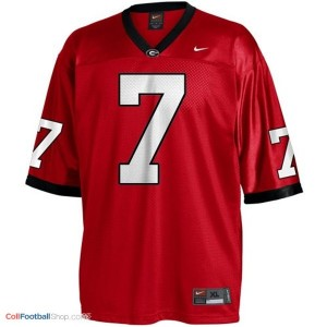 Matthew Stafford Georgia Bulldogs (UGA)  #7 Football Jersey - Red
