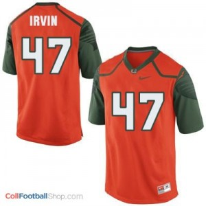 Michael Irvin Miami Hurricanes #47 Youth Football Jersey - Orange