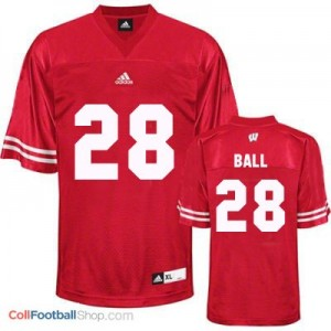 Montee Ball Wisconsin Badgers #28 Youth Football Jersey - Red