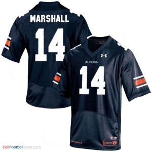 Nick Marshall Auburn Tigers #14 Youth Football Jersey - Navy Blue