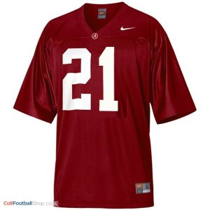 Alabama Crimson Tide Dre Kirkpatrick #21 Red Football Jersey