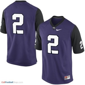 TCU Horned Frogs #2 Football Jersey - Purple