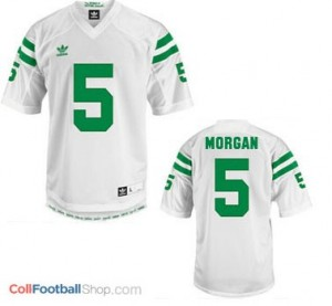 Nyles Morgan Notre Dame Fighting Irish #5 Football Jersey - White