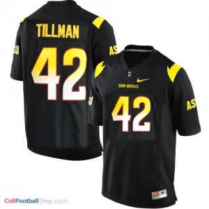 Pat Tillman Arizona State Sun Devils (ASU) #42 Youth Football Jersey - Black