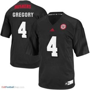 Randy Gregory Nebraska Cornhuskers #4 Football Jersey - Black