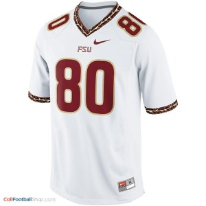 Rashad Greene Florida State Seminoles (FSU) #80 Football Jersey - White