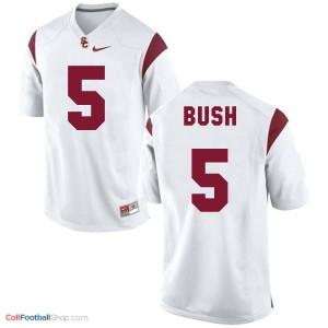 Reggie Bush USC Trojans #5 Football Jersey - White