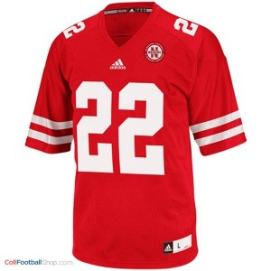 Rex Burkhead Nebraska Cornhuskers #22 Football Jersey - Red