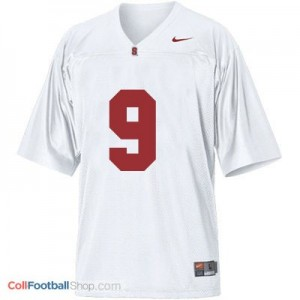 Richard Sherman Stanford Cardinal #9 Youth Football Jersey - White