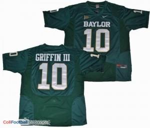 Robert Griffin III Baylor Bears #10 Football Jersey - Green