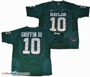 Robert Griffin III Baylor Bears #10 Youth Football Jersey - Green
