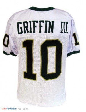 Robert Griffin III Baylor Bears #10 Youth Football Jersey - White