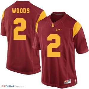 Robert Woods USC Trojans #2 Football Jersey - Red