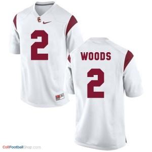 Robert Woods USC Trojans #2 Youth Football Jersey - White