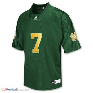 Stephon Tuitt Notre Dame Fighting Irish #7 Football Jersey - Green