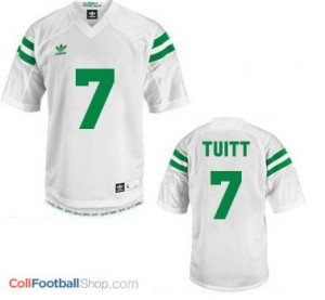 Stephon Tuitt Notre Dame Fighting Irish #7 Youth Football Jersey - White