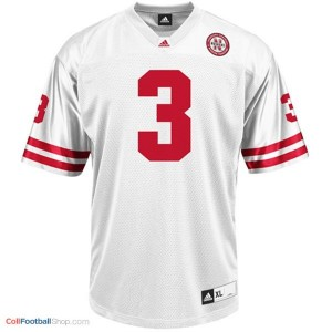 Taylor Martinez Nebraska Cornhuskers #3 Youth Football Jersey - White