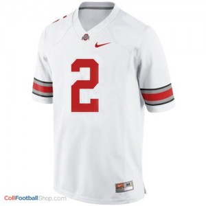 Terrelle Pryor Ohio State Buckeyes #2 Football Jersey - White