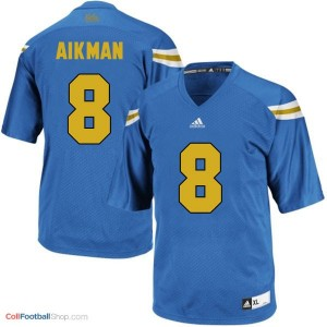 Troy Aikman UCLA Bruins #8 Football Jersey - Blue